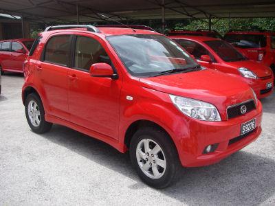 Car rental daihatsu terios 2 sciox Choice Image